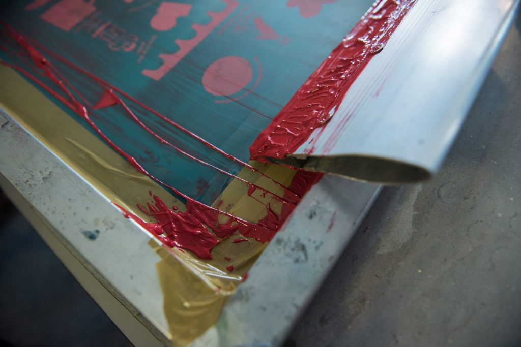 positive  film used for screen printing